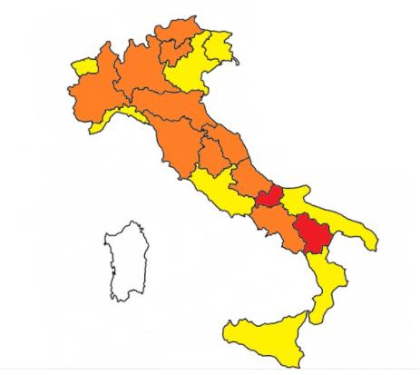 Sardinië eerste regio in Italië met status 'zone wit'